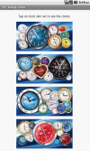 Clock skins for download are organized in smaller sets by maximum of 10 clocks.